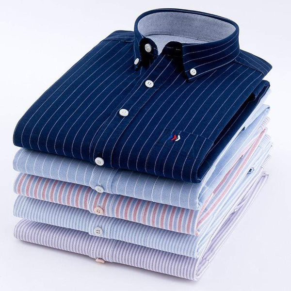 Oxford Casual Long Sleeve Shirts