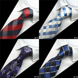 Plaid Striped Neck Ties for Men