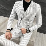 3 Pieces ( Jacket + Vest +Pants)