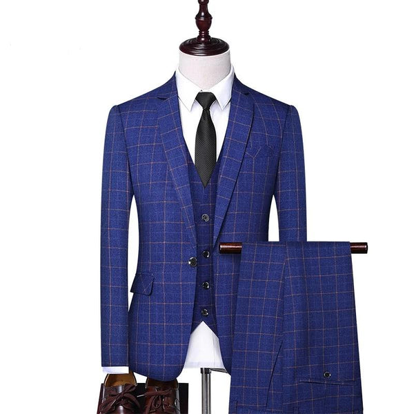 3 Pieces Men Suit