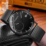Quartz Analog Wristwatch 3ATM Waterproof