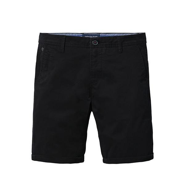 Solid Shorts Cotton Slim Fit - NewVision