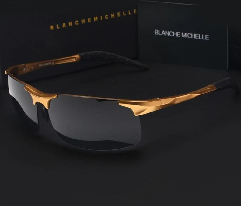 Ultra-light Aluminum Magnesium Sports Sunglasses