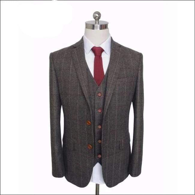 Wedding suits 3 piece (Jacket+Pants+Vest) British style