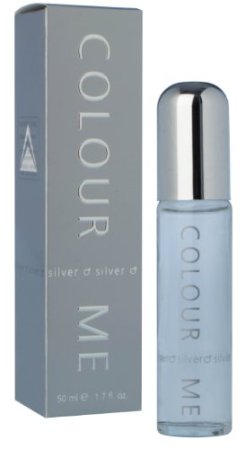 Milton Lloyd Mens Colour Me Silver Eau de Toilette 50 ml