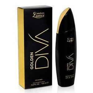 Creation Lamis Womens Golden Diva Eau De Parfum Perfume 100 ml IF YOU LIKE HUGO BOSS NUIT TRY THIS