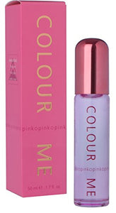Milton Lloyd Womens Colour Me Pink 50 ml Parfum de Toilette