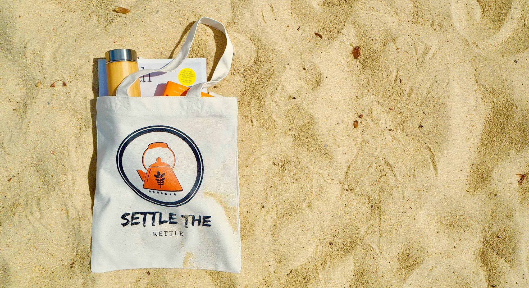 """Settle The Kettle"" Tote"