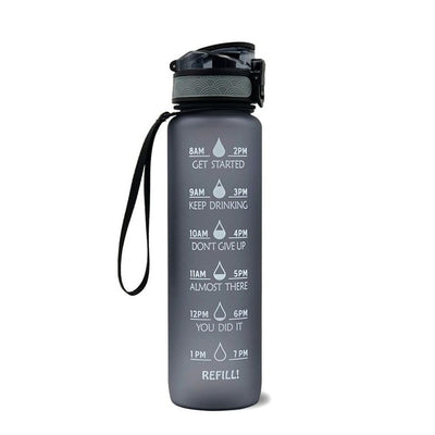 Time Marker Water Bottle