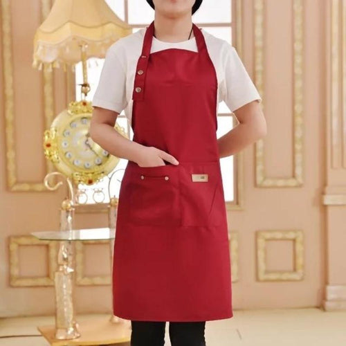 Pure Color Cooking Kitchen Apron