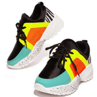 WALK ON THE WILD SIDE SNEAKERS BLACK