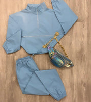 BLUE ANGEL REFLECTIVE WINDBREAKER SET