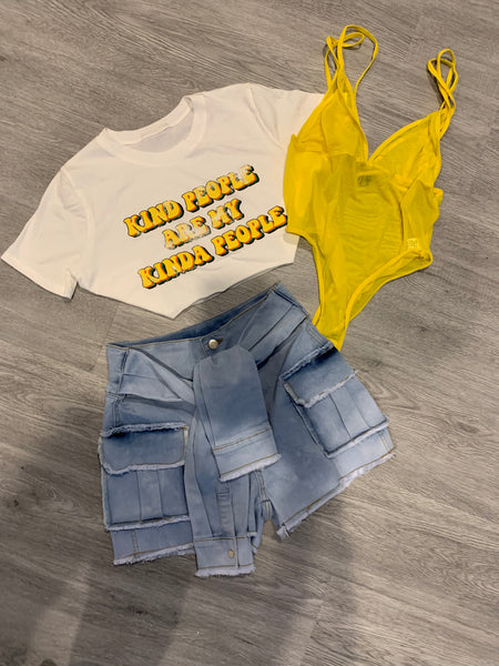 KIND PEOPLE CROP TEE