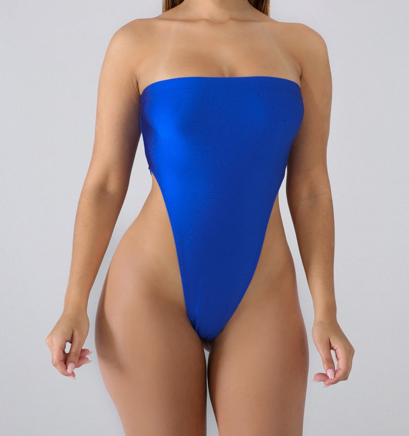 PLUNGING TUBE BODYSUIT