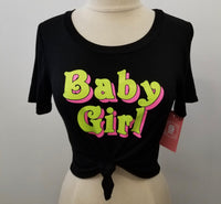 BABY GIRL TIED CROPS