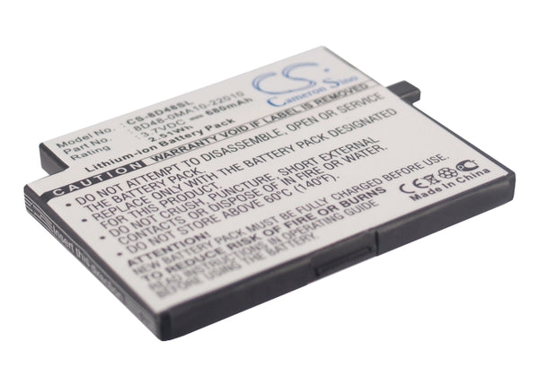 Sendo M500, M525, M550, M551, M570, SOU S681 Replacement Battery