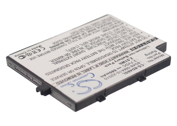 Battery for Sendo M500, M525, M550, M551, M570, SOU S681