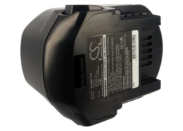 AEG B1214G, B1215R, B1220R, BLL 12C, BS 12 G, BS 12C, BS 12C2, BS 12X, BS12X-R, BSB 12 G, BSB 12 STX Replacement Battery