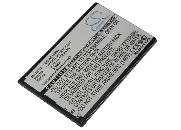 Battery for Acer beTouch E110
