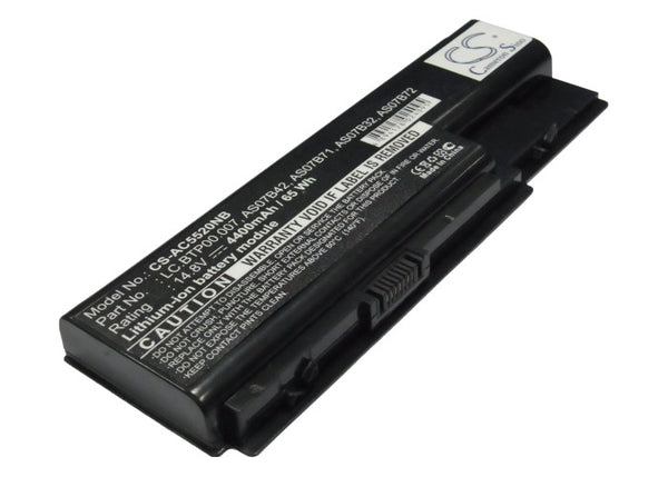 Acer Aspire 5220G, Aspire 5310, Aspire 5310G, Aspire 5315, Aspire 5315G, Aspire 5520, Aspire 5520-5A2G16 Replacement Battery