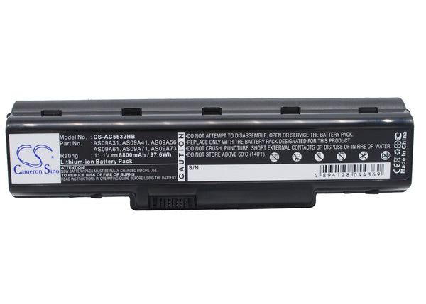Acer Aspire  AS5517-5661, Aspire 4732, Aspire 4732Z, Aspire 4732Z-431G16Mn, Aspire 4732Z-432G25MN Replacement Battery