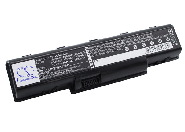 Battery for Acer Aspire AS5517-5661, 4732, 4732Z, 4732Z-431G16Mn, 4732Z-432G25MN