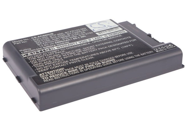 Acer Aspire 1450, Aspire 1451LCi, Aspire 1451LMi, Aspire 1452LC, Aspire 1452LCi, Aspire 1452LMi Replacement Battery