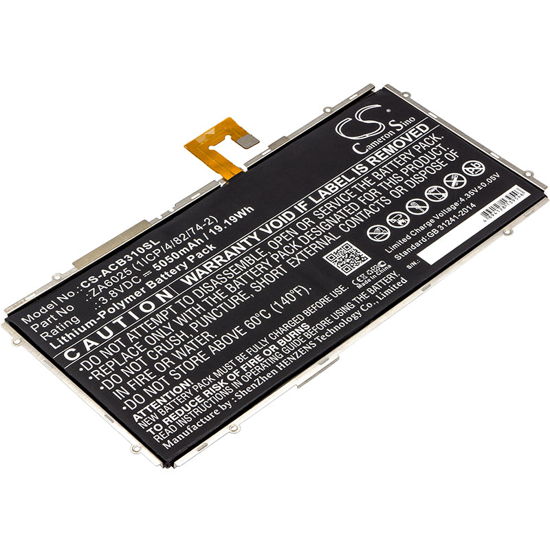 Battery for Acer Iconia One 10 B3-A10, B3-A10-K154, B3-A10-K3BF