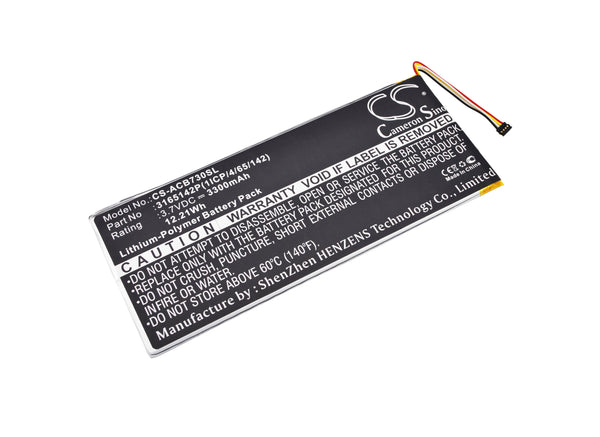 Acer A1402, Iconia One 7 B1-730, Iconia One 7 B1-730HD, Iconia One 7 B1-730HD 16GB Wi- Replacement Battery