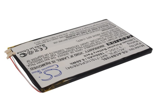 Battery for Acer B1-A71, Iconia B1-A71, Iconia B1-A71-83174G00nk, Tab B1