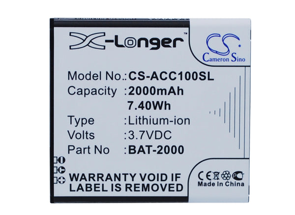 Acer Liquid C1 Replacement Battery