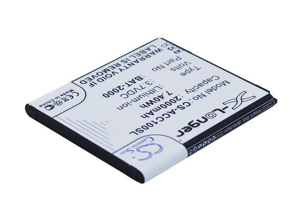 Battery for Acer Liquid C1