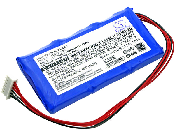 Aricon ECG-3D Replacement Battery