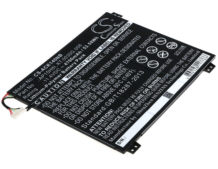Battery for Acer Aspire One Cloudbook 14, AO1-431-C139, AO1-431-C4XG, AO1-431-C7F9, AO1-431-C8G8