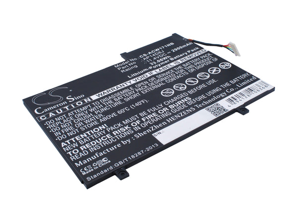 Acer Aspire Switch 11 SW5-171, Aspire Switch 11 SW5-171P Replacement Battery