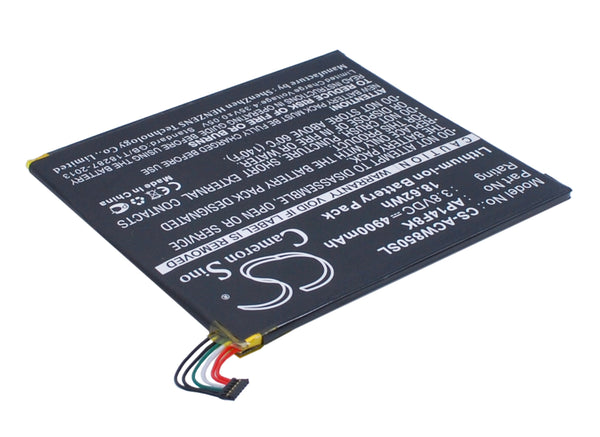 Battery for Acer A1-840, A1-850-A1410, A1-860, A1-860-19LU, B1-820, B1-830, B1-850 WiFi 16GB, GT-810, Iconia One 8