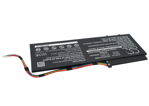 Battery for Acer Aspire P3-131, P3-131-21292G06as, P3-131-21292G12as, P3-171