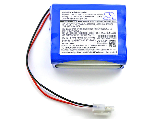 Battery for AT&T DLC-200C (7800mAh)