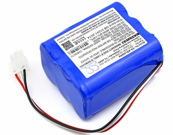 Battery for AT&T DLC-200C (10200mAh)