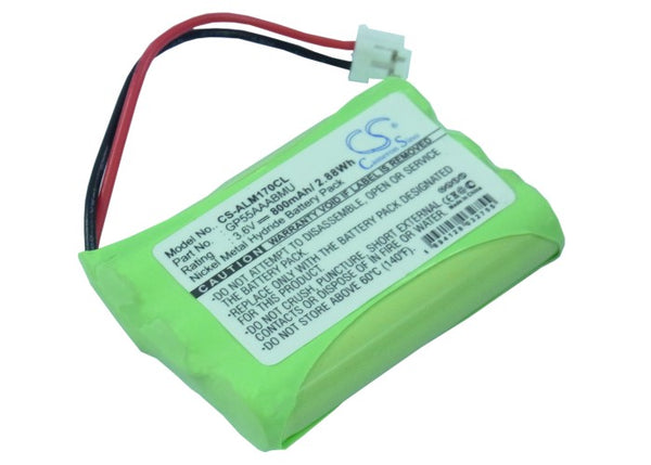 Binatone Easytouch 100, Easytouch 200, ICARUS 8, ICARUS 800, ICARUS 8000, Pegasys 200, Pegasys 400 Replacement Battery