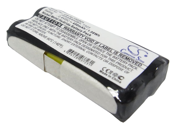 Audioline DECT 5100, DECT 550, DECT 5500, DECT 5501, DECT 5800, DECT 6000 SMS, DECT 7500, DECT 7800 Replacement Battery