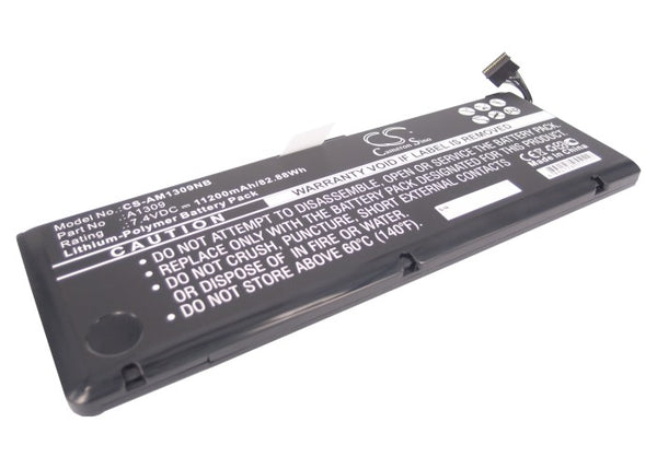 "Apple MacBook Pro 17"" A1297 2009 Ver, MacBook Pro 17"" MC226*/A, MacBook Pro 17"" MC226CH/A Replacement Battery"