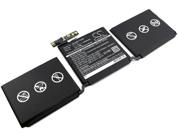 Apple MacBook Pro 13.3, MacBook Pro 13.3 2016 Retina, MLL42CH/A, MLUQ2CH/A, Pro 13.3 Late 2016 Replacement Battery