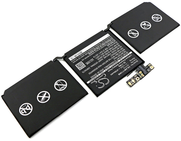Battery for Apple MacBook Pro 13.3, MacBook Pro 13.3 2016 Retina, MLL42CH/A, MLUQ2CH/A