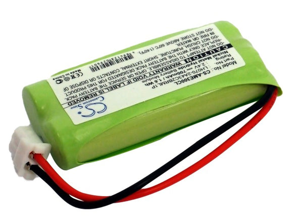 Battery for AT&T BT166342, BT-166342, BT266342, BT-266342, CL80100, CL80101, CL80111, CL81101, CL81201, CL81211, CL81301