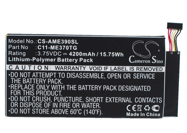 Asus ME370TG Replacement Battery