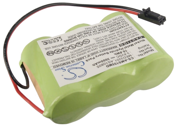 Battery for Welch-Allyn WA20500H, WA20500S, WA20510H, WA20510S, WA20520H, WA20520S, WA20530H, WA20530S, WA49020