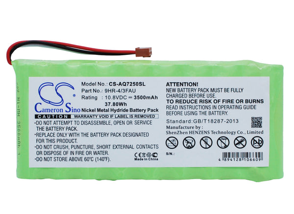 Ando AQ7250, AQ7250 mini-OTDR Replacement Battery