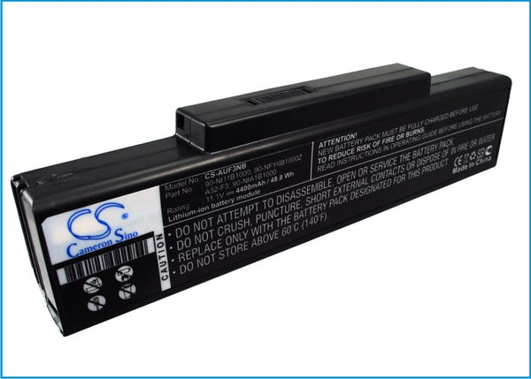 Battery for Sanyo 3UR18650F-2-QC-11