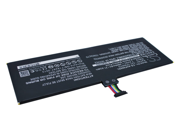 Battery for Asus VivoTab TF600T